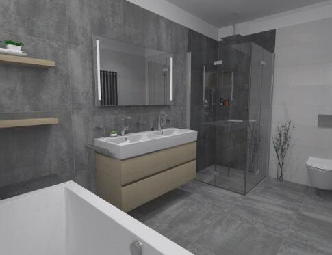 Inspirativní koupelna 1 od Cravt koupelny Tábor