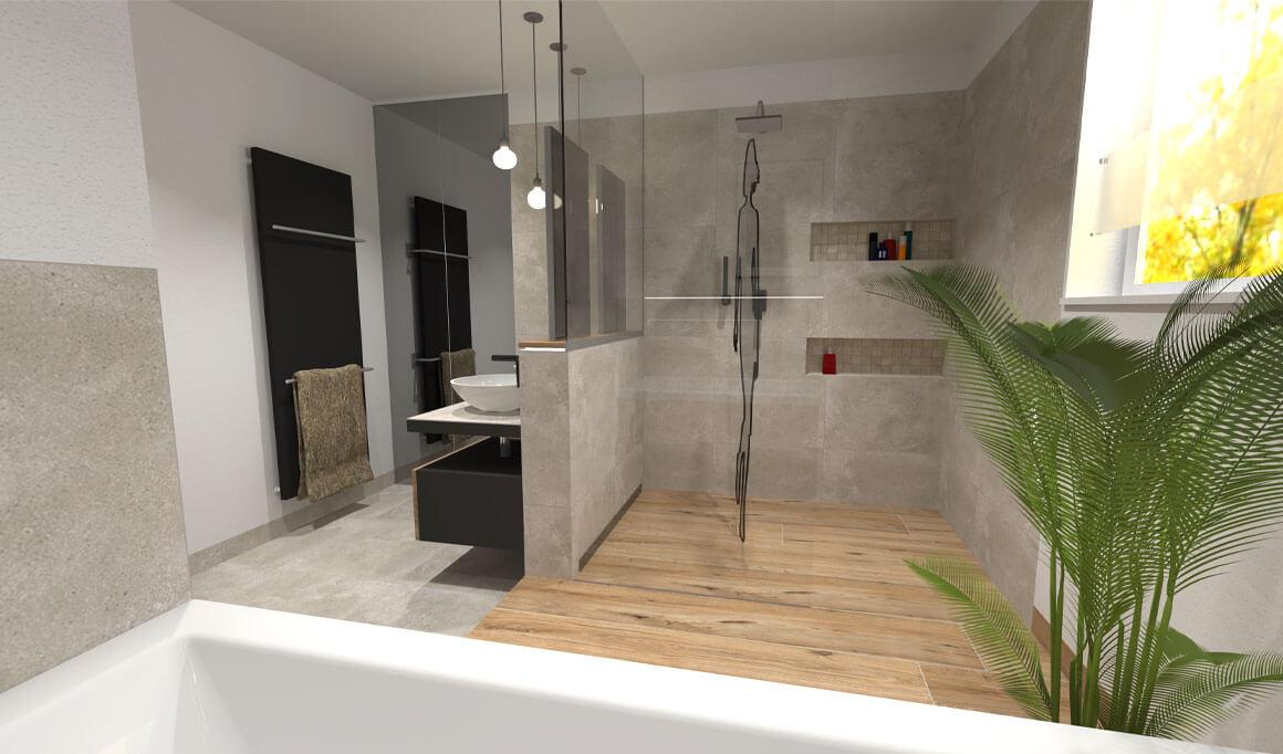 Inspirativní koupelna 3 od Cravt koupelny Tábor