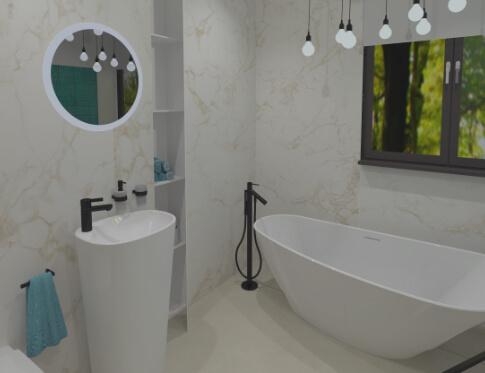 Inspirativní koupelna 4 od Cravt koupelny Tábor