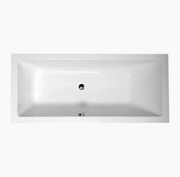 MIMOA obdélníková vana 170x75x39cm, bílá od Cravt koupelny Tábor