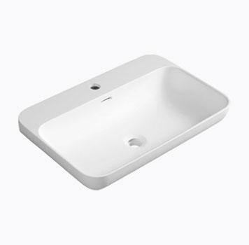 NIAGARA umyvadlo, 60x14x40cm, bílá mat od Cravt koupelny Tábor