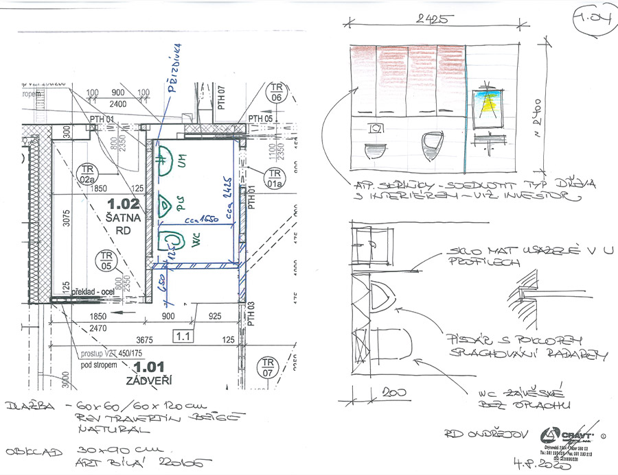 Plánování koupelny s Cravt koupelny Tábor