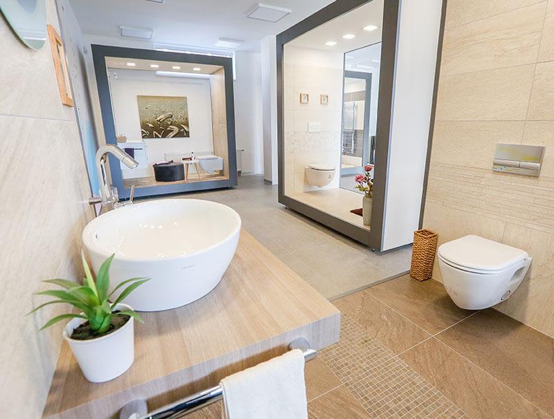 Showroomy Cravt Koupelny Tábor a Praha