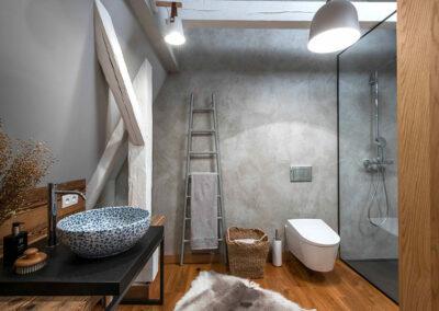 Privátní klient Tábor - realizace od Cravt koupelny Tábor